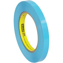 "1/2"" x 60 yds. (12 Pack) 3M 8898 Poly Strapping Tape"