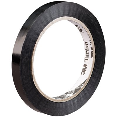 """3/4"""" x 60 yds. (12 Pack) 3M 860 Poly Strapping Tape"""