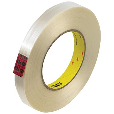 """3/4"""" x 60 yds. 3M 890MSR Strapping Tape"""