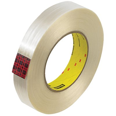 """1"""" x 60 yds. (12 Pack) 3M 890MSR Strapping Tape"""