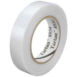 """1"""" x 60 yds. (12 Pack) 3M 8934 Strapping Tape"""