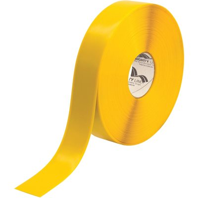 """2"""" x 100' Yellow Mighty Line™ Deluxe Safety Tape"""
