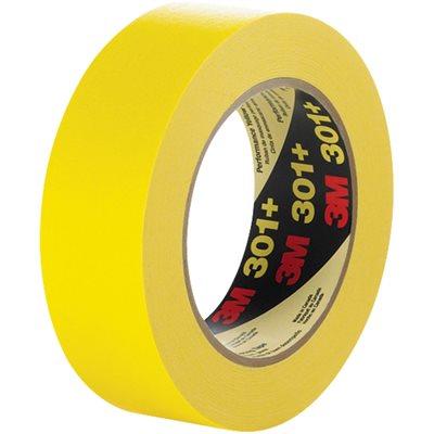 "1/2"" x 60 yds. (12 Pack) 3M 301+ Masking Tape"