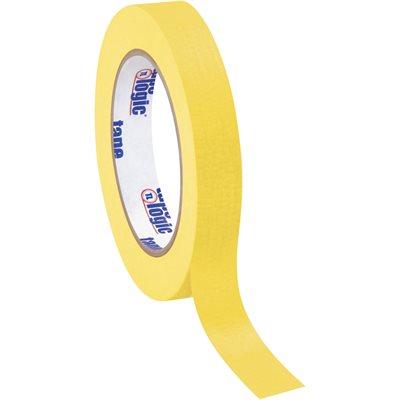 """3/4"""" x 60 yds. Yellow Tape Logic® Masking Tape"""