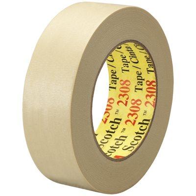 "1 1/2"" x 60 yds. (12 Pack) 3M 2308 Masking Tape"