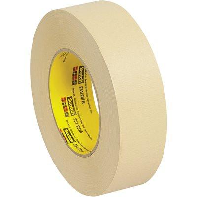 "1 1/2"" x 60 yds. (12 Pack) 3M 231 Masking Tape"