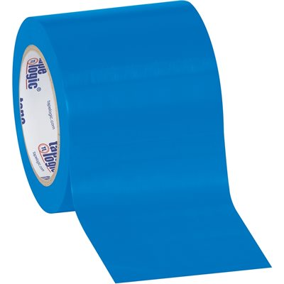 "4"" x 36 yds. Blue (3 Pack) Tape Logic® Solid Vinyl Safety Tape"