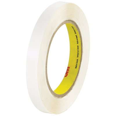 """1/2"""" x 36 yds. (6 Pack) 3M 444 Double Sided Film Tape"""
