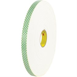 "1"" x 18 yds. (1 Pack) 3M 4004 Double Sided Foam Tape"