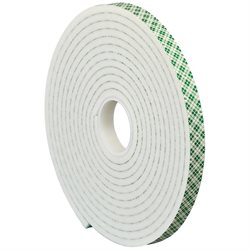 "1"" x 5 yds. 3M 4004 Double Sided Foam Tape"