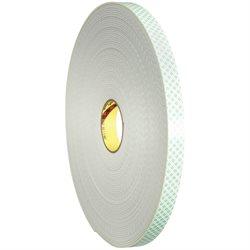 "1"" x 36 yds. (1 Pack) 3M 4008 Double Sided Foam Tape"