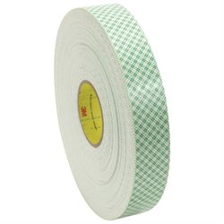 "1"" x 36 yds. 3M 4016 Double Sided Foam Tape"
