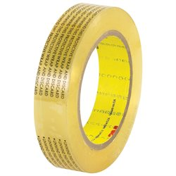 "1"" x 72 yds. (6 Pack) 3M 665 Double Sided Film Tape"