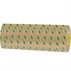"12"" x 60 yds. (1 Pack) 3M 467MP Adhesive Transfer Tape Hand Rolls"