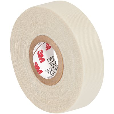 """3/4"""" x 66' White 3M 69 Electrical Tape"""