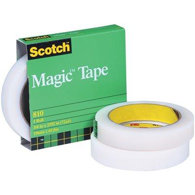"3/4"" x 72 yds. Scotch® 810 Magic™ Tape (Permanent)"