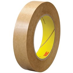 """1"""" x 60 yds. (6 Pack) 3M 463 Adhesive Transfer Tape Hand Rolls"""