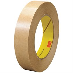 """1"""" x 60 yds. (6 Pack) 3M 465 Adhesive Transfer Tape Hand Rolls"""