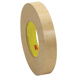 """1"""" x 120 yds. (6 Pack) 3M 9498 Adhesive Transfer Tape Hand Rolls"""