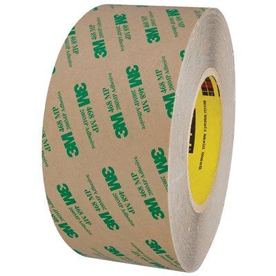 "3"" x 60 yds. 3M 468MP Adhesive Transfer Tape Hand Rolls"