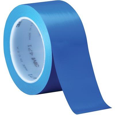 """2"""" x 36 yds. Blue (3 Pack) 3M 471 Vinyl Tape"""