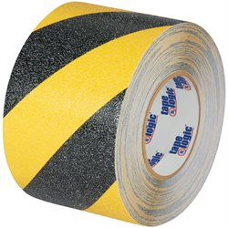 "3"" x 60' Black/Yellow Striped Heavy-Duty Tape Logic® Anti-Slip Tape"