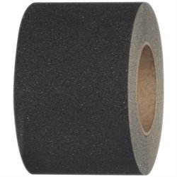 "4"" x 60' Black Heavy Duty Tape Logic® Anti-Slip Tape"
