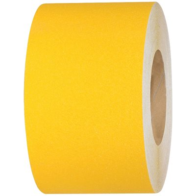 "4"" x 60' Yellow Heavy-Duty Tape Logic® Anti-Slip Tape"