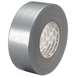 """1"""" x 60 yds. Silver 3M 3939 Duct Tape"""