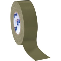 "2"" x 60 yds. Olive Green (3 Pack) Tape Logic® 10 Mil Duct Tape"