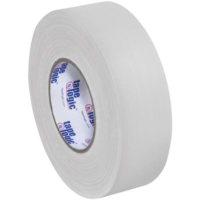 "2"" x 60 yds. White Tape Logic® 11 Mil Gaffers Tape"