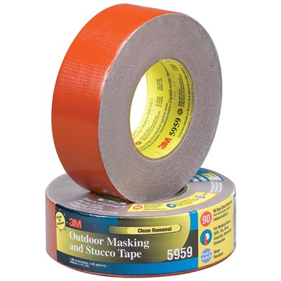 """2"""" x 45 yds. Red (3 Pack) 3M 5959 Duct Tape"""