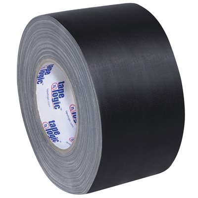 "3"" x 60 yds. Black Tape Logic® 11 Mil Gaffers Tape"