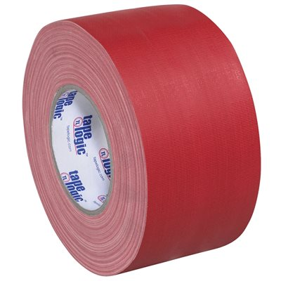 """3"""" x 60 yds. Red (3 Pack) Tape Logic® 11 Mil Gaffers Tape"""