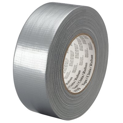 """3"""" x 60 yds. Silver (3 Pack) 3M 3939 Duct Tape"""
