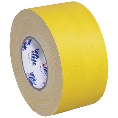 "4"" x 60 yds. Yellow (3 Pack) Tape Logic® 11 Mil Gaffers Tape"