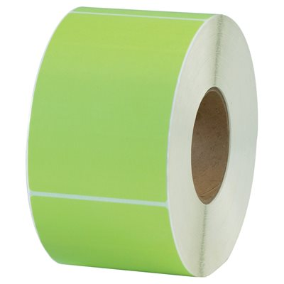 """4 x 6"""" Green Thermal Transfer Labels"""