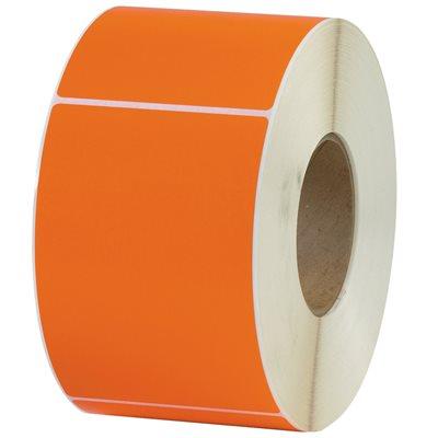 "4 x 6"" Orange Thermal Transfer Labels"