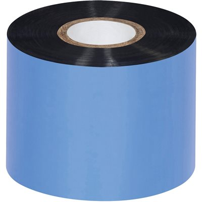 "2.09"" x 1345' Black Sato Thermal Transfer Ribbons - Wax"