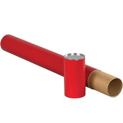 "3 x 24"" Red Premium Telescoping Tubes"