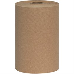 "8"" x 350' Advantage® Kraft Hard Wound Roll Towels"