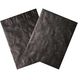 "12 x 15 1/2"" Black Tyvek® Envelopes"