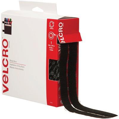 """3/4"""" x 15' - Black VELCRO® Brand Tape - Combo Packs"""