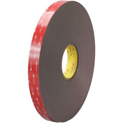 """1"""" x 5 yds. Black 3M 4919F VHB™ Tape"""