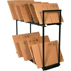 "54 x 18 x 50"" Two Tier Carton Stand"