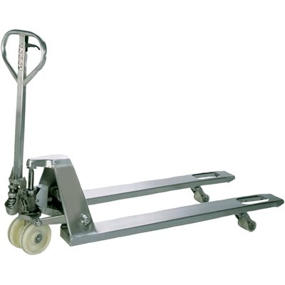 """48 x 27"""" Stainless Steel Pallet Truck"""