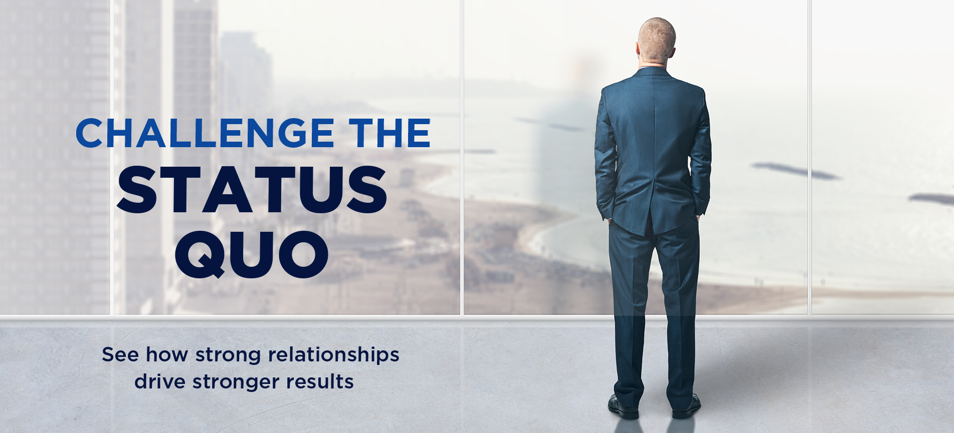 Challenging the Status Quo Banner